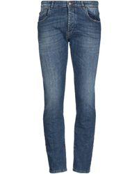 Officina 36 Denim Pants - Blue