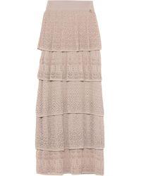 Relish Long Skirt - Natural