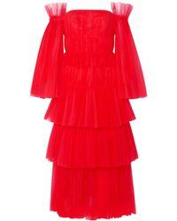 Carolina Herrera Knee-length Dress - Red
