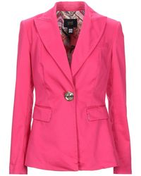 Class Roberto Cavalli Suit Jacket - Pink
