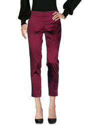 Ice Iceberg Casual Trouser - Red