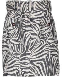 Zimmermann Knee Length Skirt - Natural