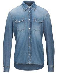 Mauro Grifoni Denim Shirt - Blue