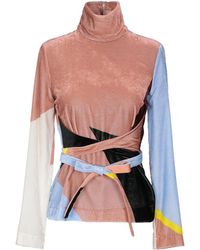 Cedric Charlier Blouse - Pink