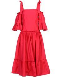 Alberta Ferretti - 3/4 Length Dresses - Lyst