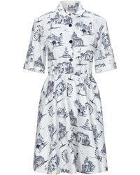 Maje Kurzes Kleid - Weiß