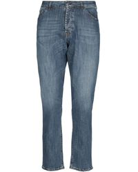 Michael Coal Denim Trousers - Blue