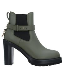 Buscemi Ankle Boots - Green