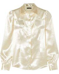 ALEXACHUNG Shirt - White