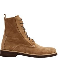 8 by YOOX Ankle Boots - Brown