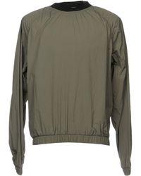 MSGM Sweatshirts - Green