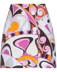Emilio Pucci Midi Skirt - Pink