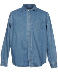Paura - Denim Shirt - Lyst