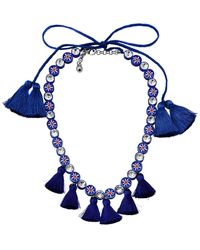 Shourouk Collier - Bleu