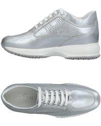 Hogan Low Sneakers & Tennisschuhe - Mettallic