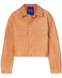 Simon Miller Denim Outerwear - Brown