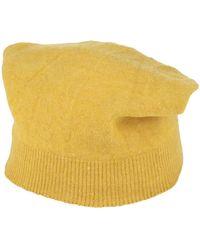 Roberto Collina Hat - Yellow