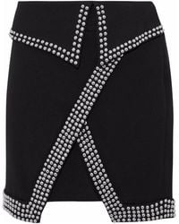 L'Agence Mini Skirt - Black