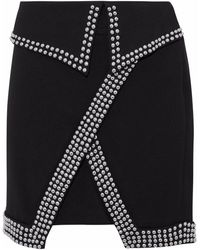 L'Agence Mini Skirt - Black