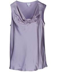 Armani Top - Purple
