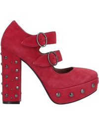 Loretta Pettinari Court Shoes - Red