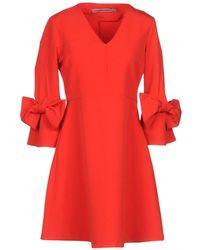 Angela Davis Short Dress - Red