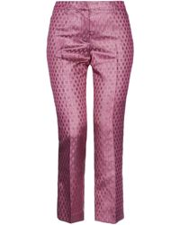 Femme By Michele Rossi Pantalones - Multicolor