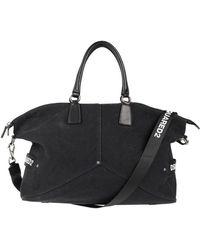 DSquared² Travel Duffel Bags - Black