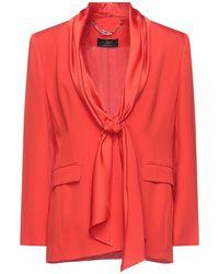 Clips Suit Jacket - Orange