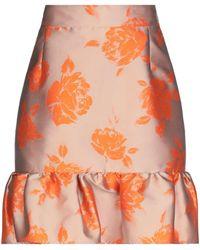 MSGM Knee Length Skirt - Brown