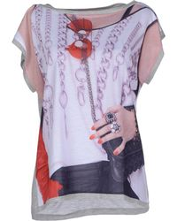 Venera Arapu Short Sleeve T-shirt - Grey