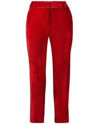 Sies Marjan Pantalon - Rouge