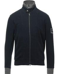 Etiqueta Negra Sweatshirt - Blau