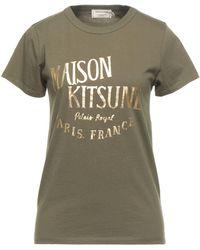 Maison Kitsuné T-shirt - Green
