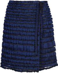 Giorgio Armani Falda corta - Azul