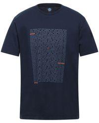 North Sails T-shirts - Blau
