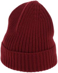 Cruciani Hat - Red