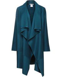 Angelo Marani Overcoat - Blue