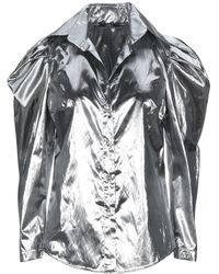 Carla G Shirt - Metallic