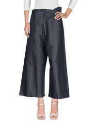 Malloni Denim Pants - Blue