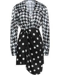 Art Dealer Short Dress - Black