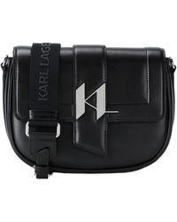 Karl Lagerfeld Cross-body Bag - Black