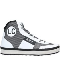 Leather Crown High-tops & Trainers - White