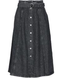 Gestuz Denim Skirt - Black