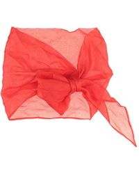 La Petite Robe Di Chiara Boni Cintura - Rosso