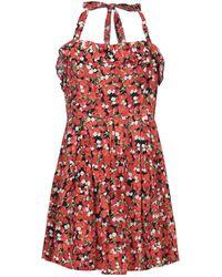 Red Herring Short Dress - Black