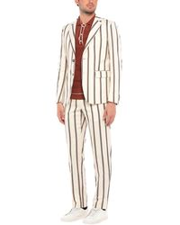 Brian Dales Suit - White