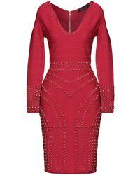 Forever Unique Midi Dress - Red