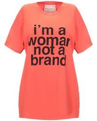 Erika Cavallini Semi Couture T-shirt - Orange
