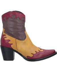 Mally Ankle Boots - Multicolour